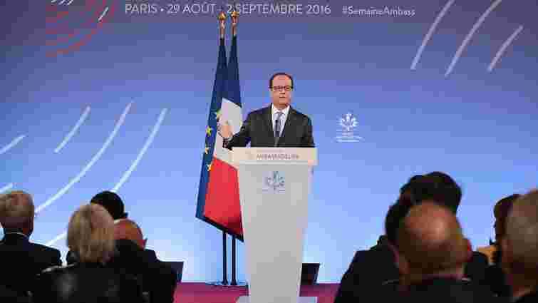 Президент Франції заявив про докази застосування хімічної зброї режимом Асада