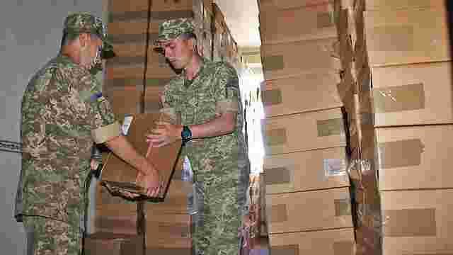 Українські військові отримали від США понад тисячу приладів нічного бачення