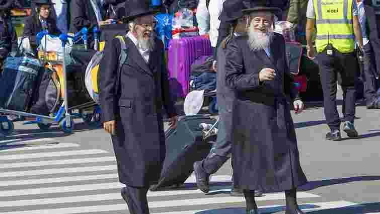 До України прибудуть 13,5 тис. паломників-хасидів з Ізраїлю та Польщі