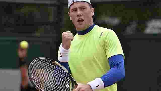 Український тенісист пройшов у четверте коло US Open