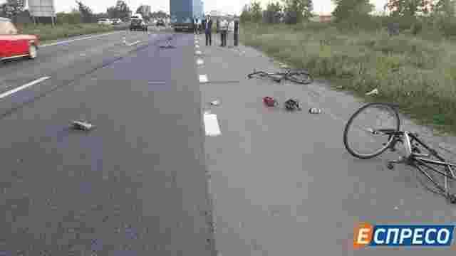 Суд арештував водія вантажівки, який збив групу велосипедистів на Київщині