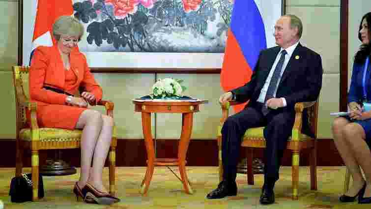 Прем'єр-міністр Великобританії заявила, що хоче відкритого діалогу з Росією