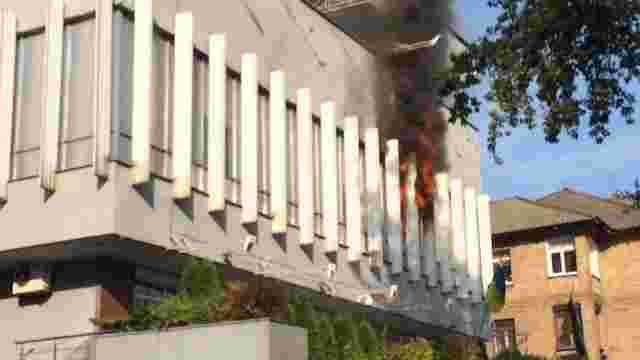 В офіс телеканалу «Інтер», за попередніми даними, кинули димову шашку, - Нацполіція