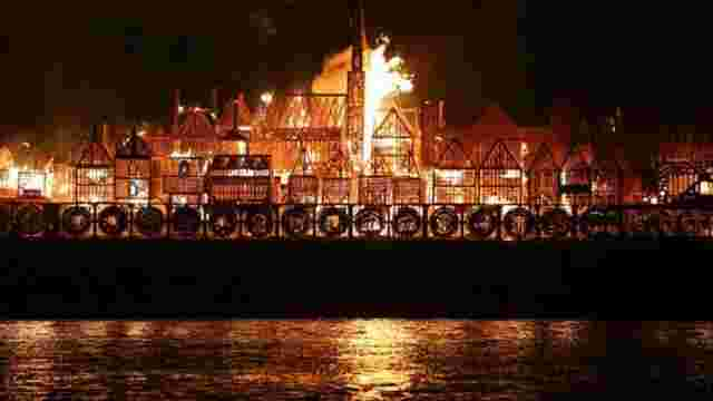 У Лондоні повторили велику міську пожежу 1666 року