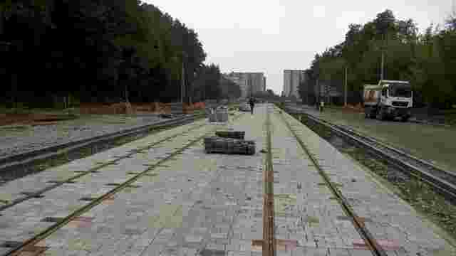 Онлайн-мапа зупинок трамвая на Сихів