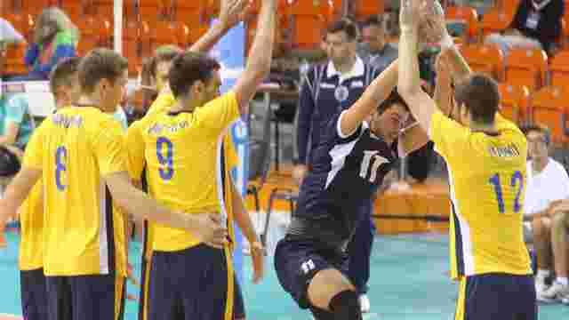Молодіжна збірна України з волейболу вийшла до півфіналу чемпіонату Європи
