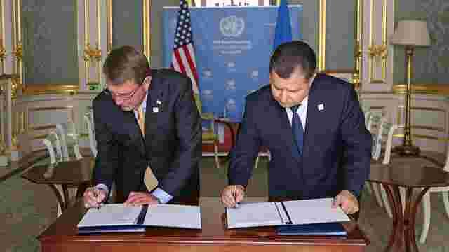 Міністри оборони України і США підписали концепцію розвитку партнерства на 5 років
