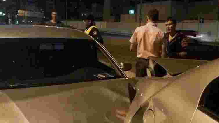 Автомобіль Надії Савченко потрапив у ДТП в Києві