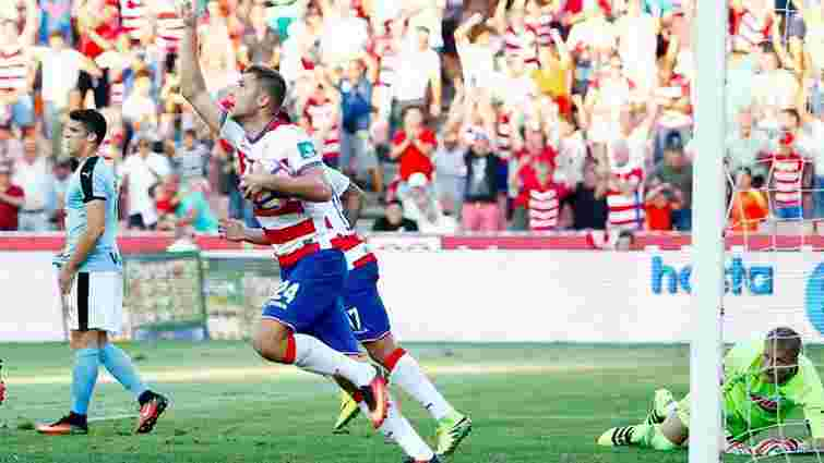 Екс-форвард «Динамо» Артем Кравець відзначився голом у дебютному матчі за «Гранаду»