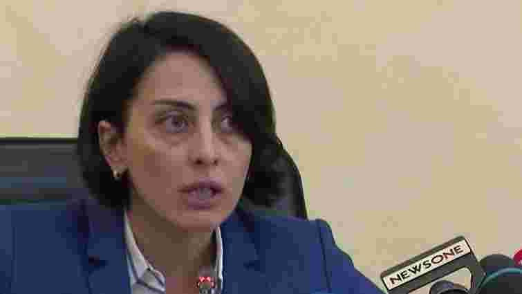 Деканоїдзе підтвердила факт сп'яніння за кермом начальника карного розшуку Львівщини
