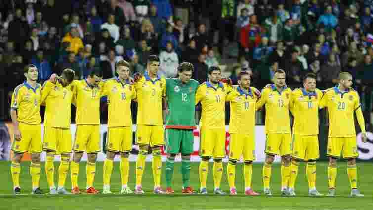 Україна піднялася на 29 місце у рейтингу ФІФА