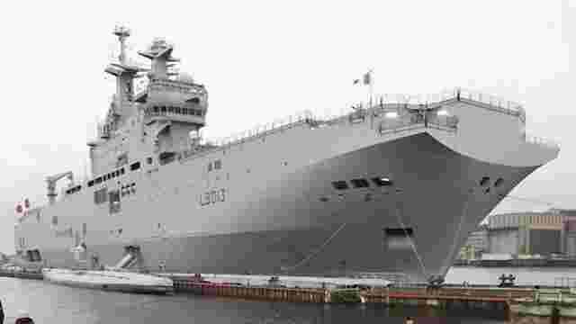 Франція передала до Єгипту другий «Містраль», який мав бути на озброєнні у Росії
