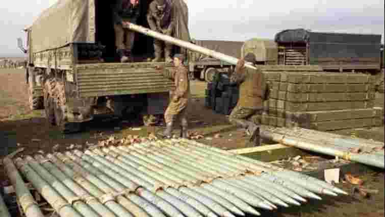Росія доставила бойовикам понад 200 т артилерійських боєприпасів, - розвідка