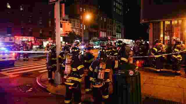 У центральному районі Нью-Йорку стався вибух: 29 осіб отримали поранення
