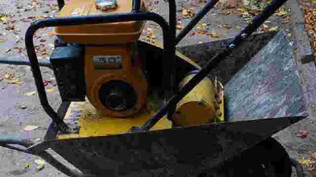 У робочий час з будівельного майданчика у Львові викрали обладнання