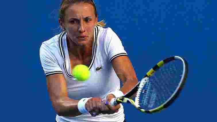 Українська тенісистка Леся Цуренко вийшла у півфінал турніру WTA