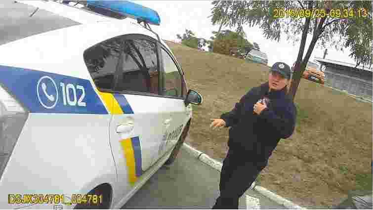 У мережі опублікували відео з нагрудної камери вбитого в Дніпрі поліцейського