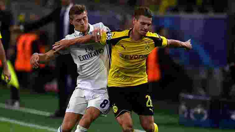 «Реал» втратив перемогу у матчі Ліги чемпіонів з дортмундською «Боруссією»