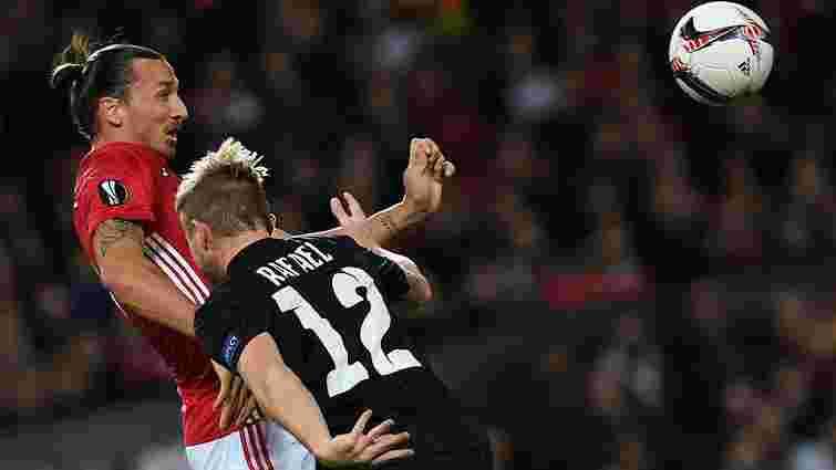 «Зоря» мінімально поступилась «Манчестер Юнайтед» у Лізі Європи