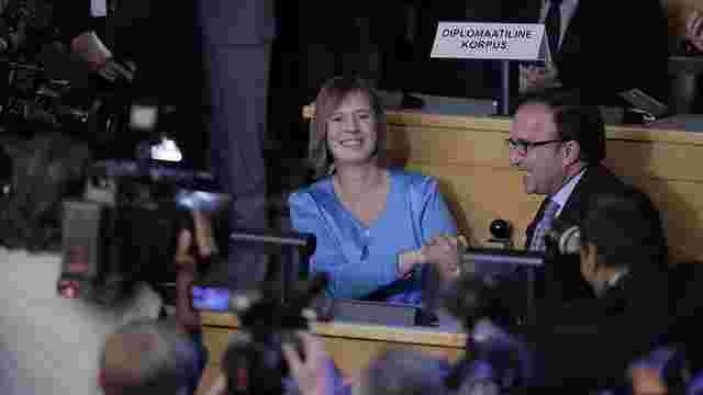 Президентом Естонії вперше стала жінка