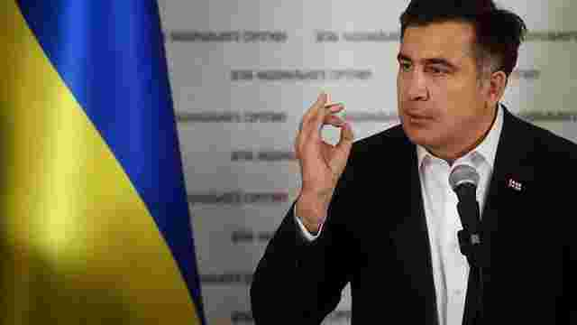 Михаїл Саакашвілі заявив, що не покидатиме Україну після парламентських виборів у Грузії