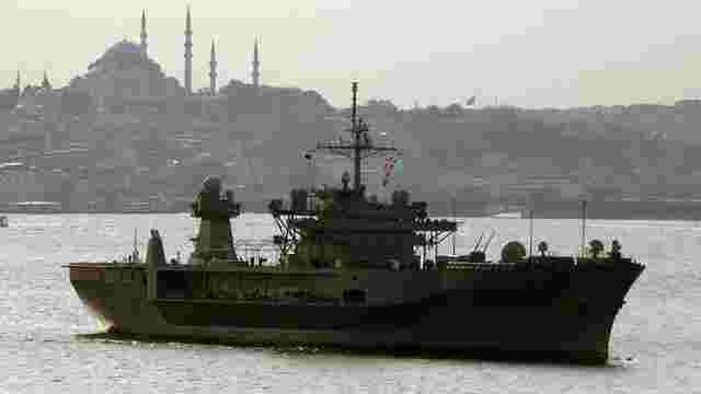 У Чорне море увійшов флагманський корабель шостого флоту ВМС США
