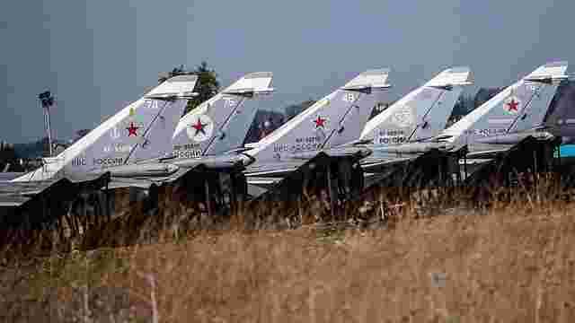 Рада Федерації Росії підтримала безстрокове розміщення авіації РФ в Сирії