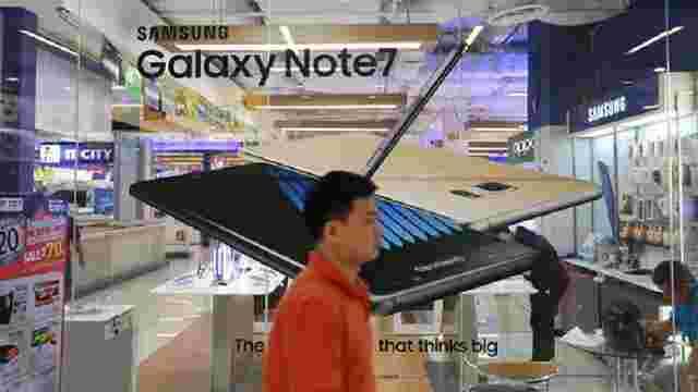 Втрати компанії Samsung через відкликання смартфона Galaxy Note 7 складуть близько $3 млрд