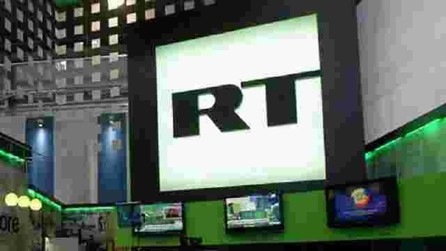 У Великобританії заблокували рахунки телекомпанії Russia Today