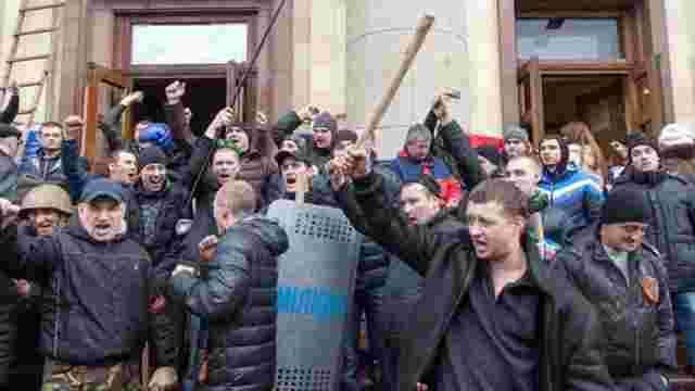 Суд виніс перші вироки учасникам захоплення Харківської ОДА в 2014 році