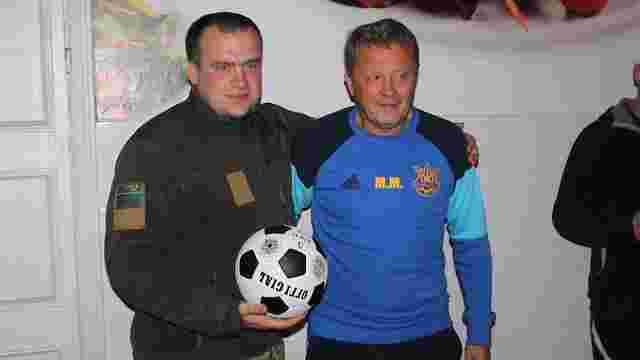 Мирон Маркевич погодився потренувати футбольну команду прикордонників