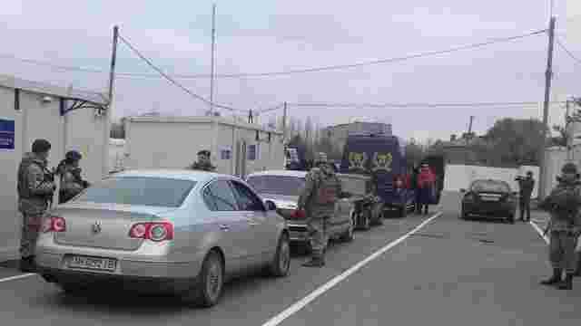 На Донеччині поблизу Майорська відкрили пункт пропуску через лінію розмежування