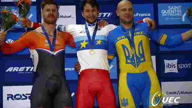 Українець здобув «бронзу» на чемпіонаті Європи з велотреку у Франції