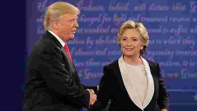 За результатами опитування у США Гілларі Клінтон на 12% випереджає Трампа