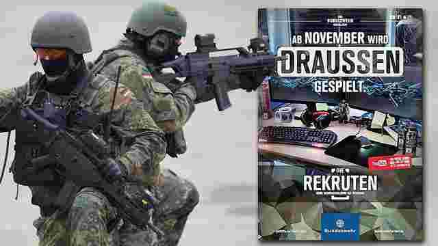Німецька армія набиратиме добровольців на службу через YouTube