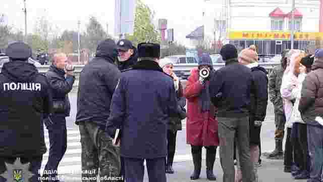 На Рівненщині за перекриття траси Київ-Чоп судитимуть протестувальників
