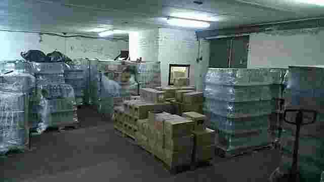 Поліція вилучила півмільйона пляшок підробленої горілки вартістю майже ₴30 млн