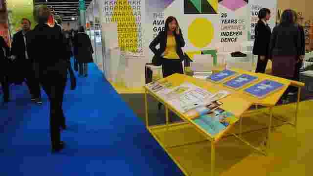 На Франкфуртському книжковому ярмарку обікрали стенд з українськими книжками