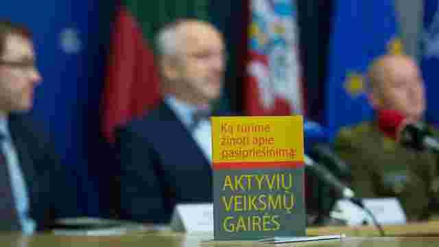 У Литві видали пам'ятку для населення на випадок російського вторгнення
