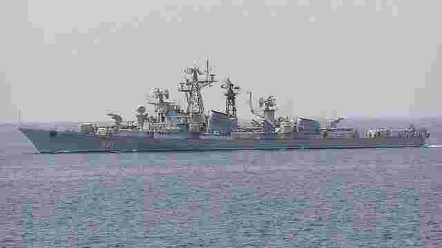 Росія відправила з окупованого Криму в Сирію сторожовий корабель  «Сметливый»