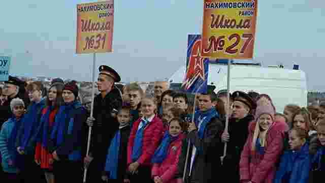 Росіяни примушують дітей окупованого Криму опановувати військову справу