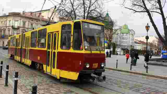 У неділю через проведення напівмарафону львівські трамваї змінять маршрути