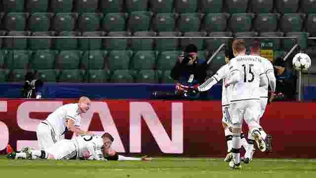 Варшавська «Легія» відігралась у мадридського «Реалу» після рахунку 0:2