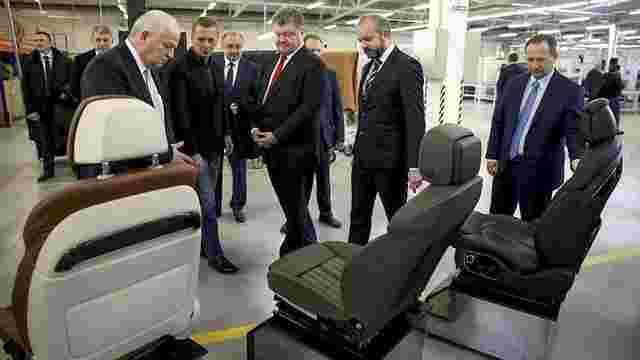 Петро Порошенко відкрив на Львівщині новий завод з німецькими інвестиціями
