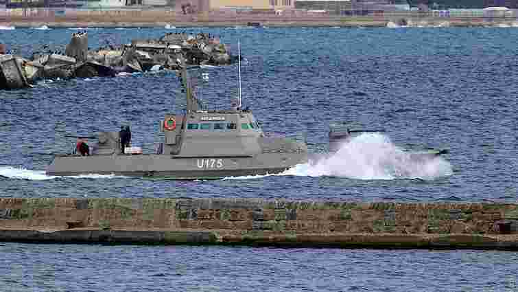 Два новітні українські бронекатери вийшли в море на випробування