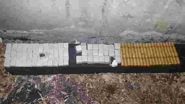У Маріуполі в товарному вагоні знайшли мішок з патронами і тротиловими шашками