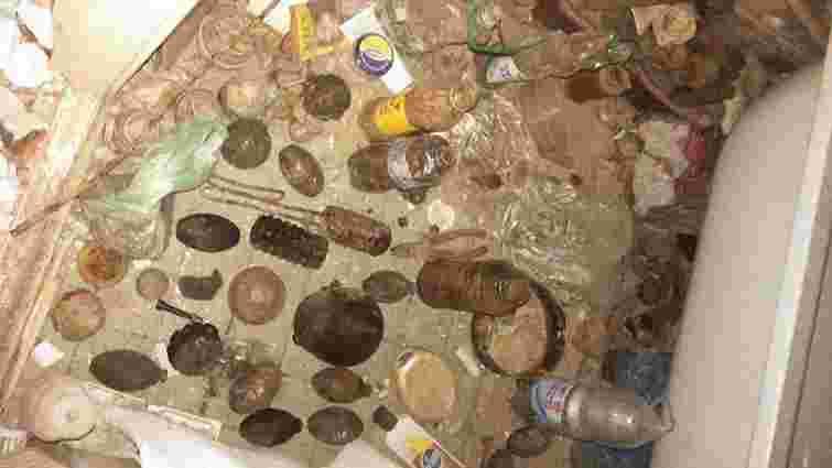 Вибух у  львівській багатоповерхівці стався через зібрані «чорним археологом» боєприпаси