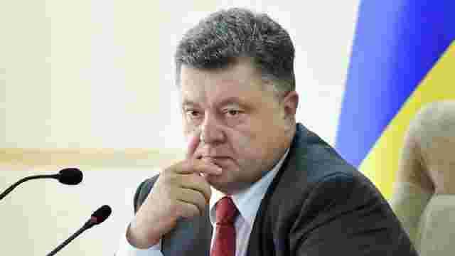 Петро Порошенко прокоментував відставку Михаїла Саакашвілі