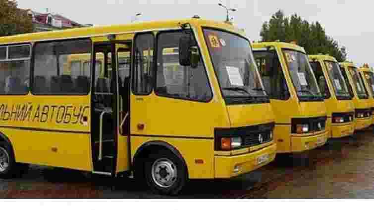 Львівська облрада дозволила райрадам самостійно закупити шкільні автобуси