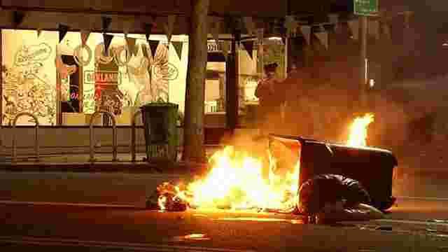 В американському Портленді протести проти Трампа переросли у масові заворушення